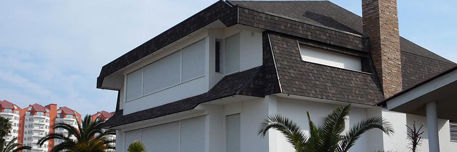 ارتفاع انواع سقف های شیبدار